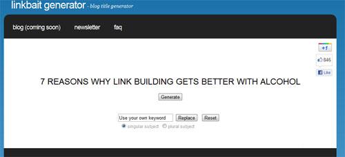 LinkBaitGenerator