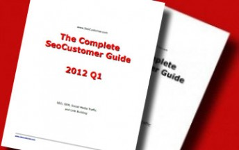 Complete SeoCustomer Guides with tips and tricks about SEO, SEM, Social Media Traffic and Link Building