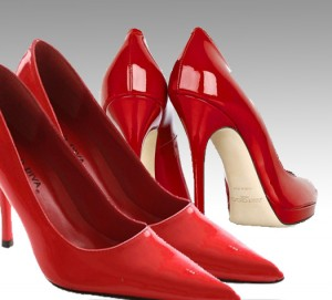Red Pumps And Pinterest