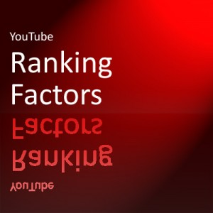 YouTube Ranking Factor SEO red