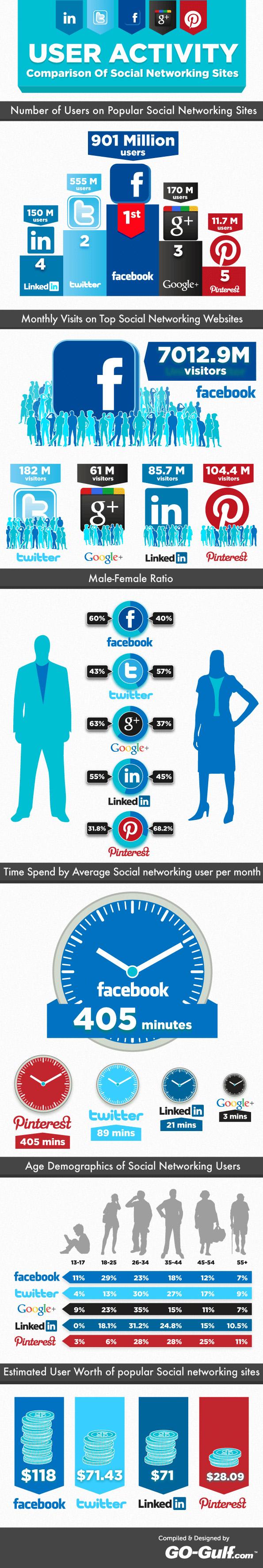 social networking users SeoCustomer