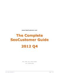 SeoCustomerHotTricksAndTips2012Q4v3