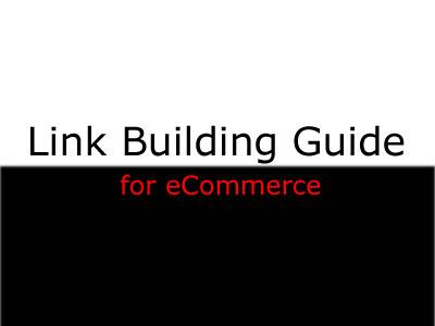LinkBuildingFor Ecommerce