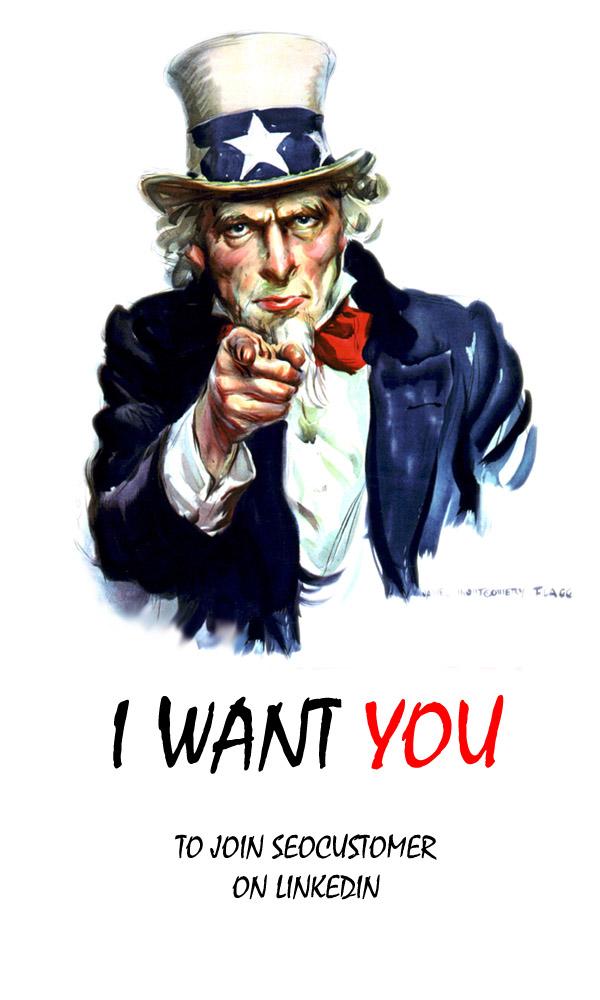 I want you -seocustomer