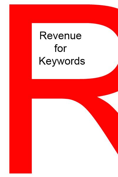 Revenue for keywords