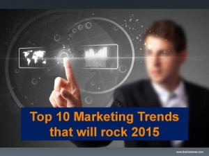 The trend in 2015 and future years for website design