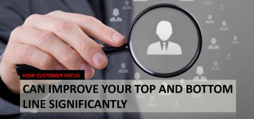can improve your top and bottom line significantly