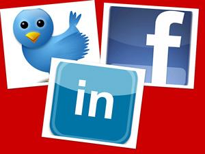 SocialMediaTwitterFacebookLinkedIn