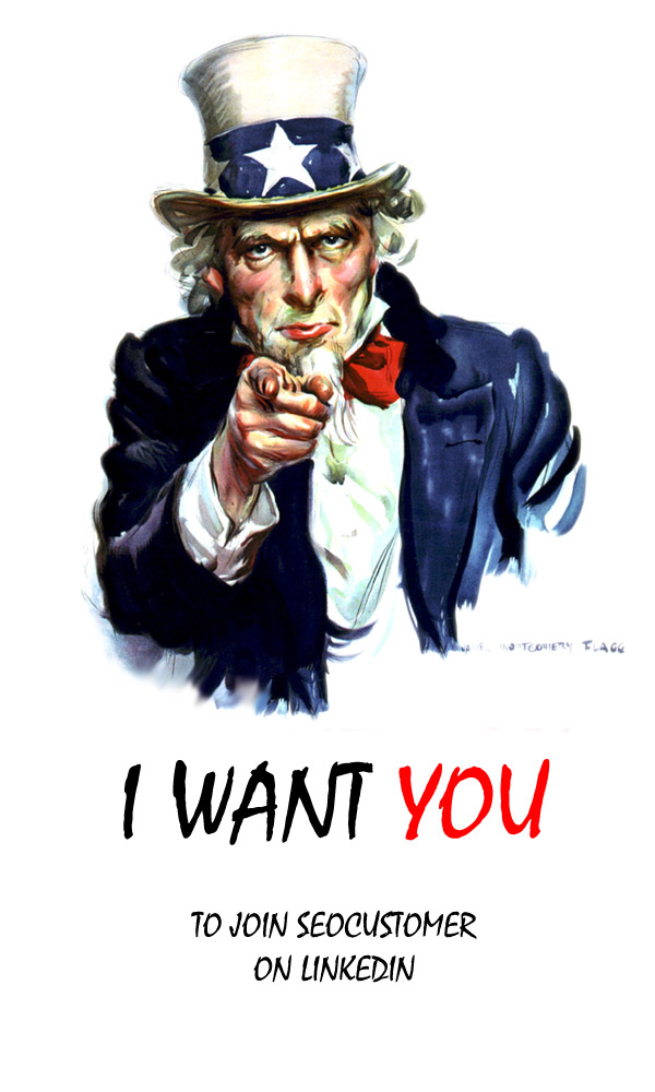 I want you -seocustomer