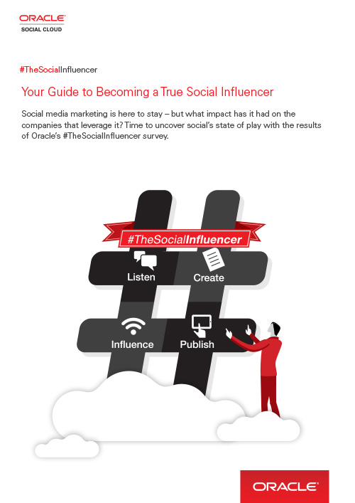 Oracle Social Guide Influencer 2014