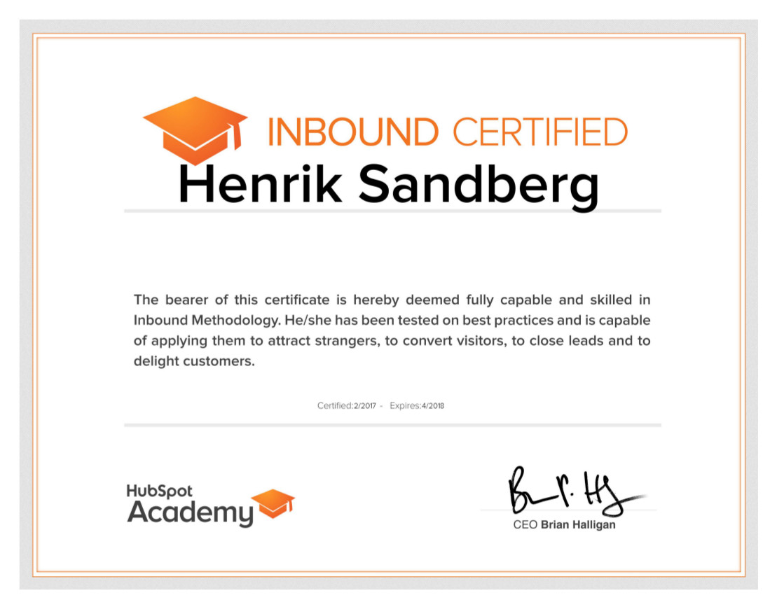 My Semrush Seo Certification Seocustomer